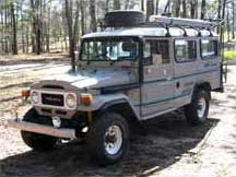 1977 Toyota Land Cruiser FJ45 Troop Carrier