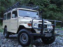 1980 Toyota Land Cruiser FJ45 Troop Carrier