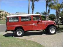 1980 Toyota Land Cruiser HJ45 Troop Carrier