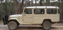 1982 Toyota Land Cruiser HJ47 Diesel Troop Carrier