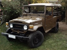 1981 Toyota Land Cruiser FJ45 LHD Soft Top Troop Carrier