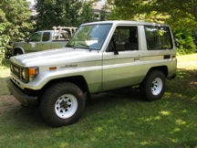 1985 Toyota Land Cruiser BJ70 Left Hand Drive