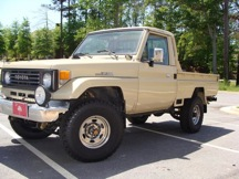 1990 Toyota Land Cruiser FJ75 Pick Up