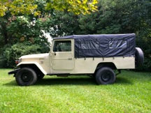 1981 Toyota Land Cruiser FJ45 Soft Top Left Hand Drive